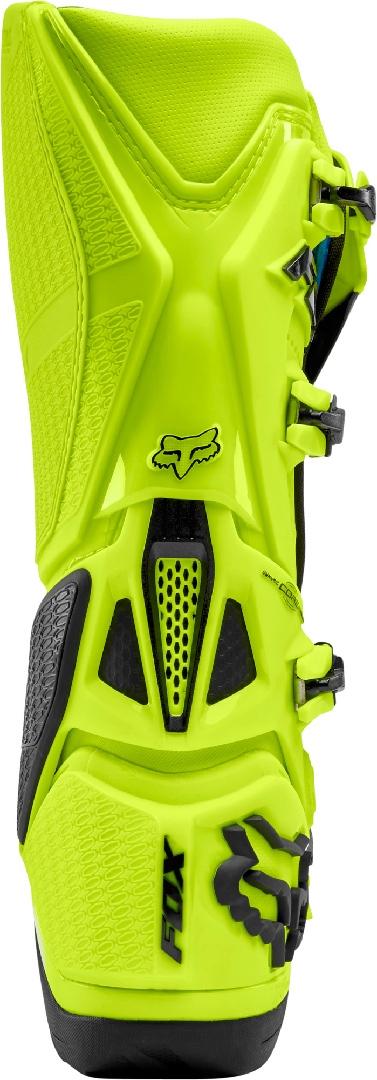 Fox Instinct MX støvle Fluo yellow