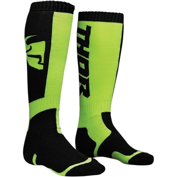 Thor Junior Cross strømpe - Black / Lime