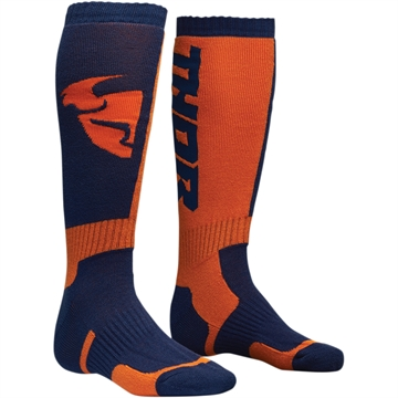 Thor Junior Cross strømpe - Navy / Orange