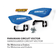 HAND GUARD CIRCUIT VECTOR BLUE