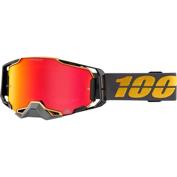 100% Armega brille Falcon 5 - Red mirrow lens