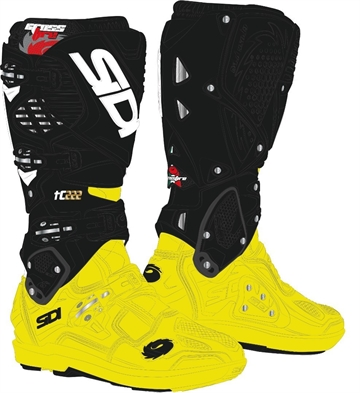 SIDI Crossfire 3 SRS TC 222 Limited edt. Gul / Sort