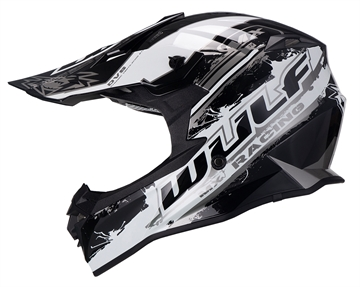 Wulfsport Off Road Pro crosshjelm - Sort