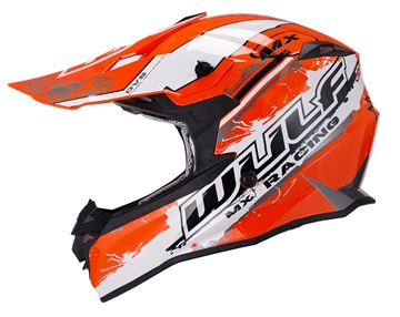 Wulfsport Off Road Pro crosshjelm - Orange