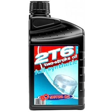BO Motoroil 2T6 2-takt - Full Synthetic