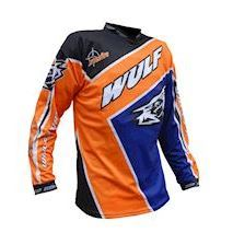 Crossfire orange shirt str. L
