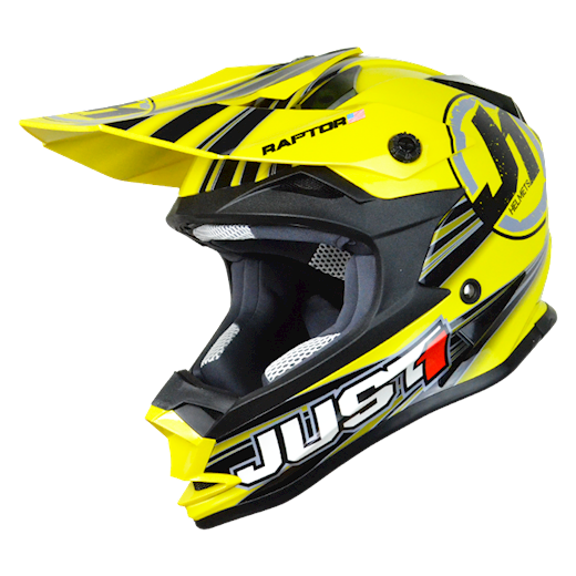 Just1 Crosshjelm  J32 Raptor Yellow