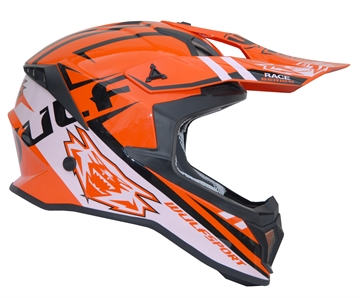 Wulfsport Race Serie - Crosshjelm Orange