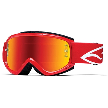 Smith Fuel v. 1 Max M - Red Mirrow  -  Cross brille + 50 stk. tear off
