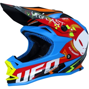 UFO Electroshock Junior  MX hjelm