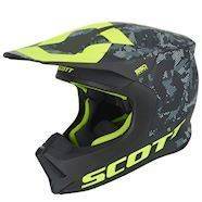 Scott 550 camo hjelm sort/gul
